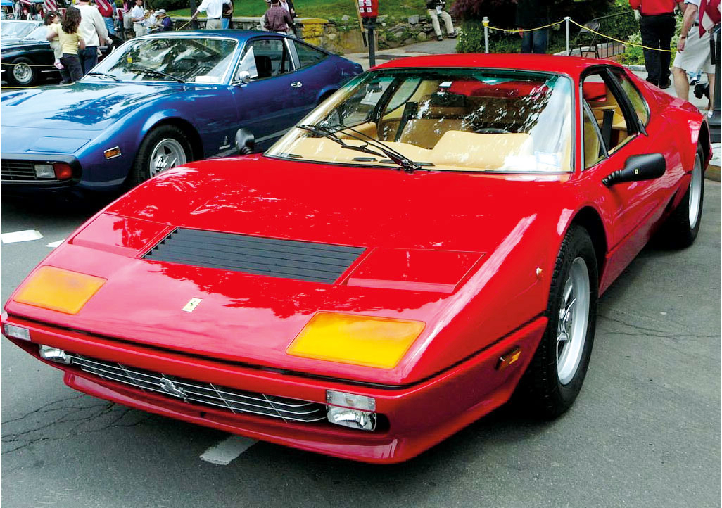 A 1984 Ferrari 512BB Berlinetta 'Boxer' went under the hammer for almost $440,000 at the London Classic Car Show in 2018 - Ph: 2006 Scarsdale Coucours/Brett Weinstein