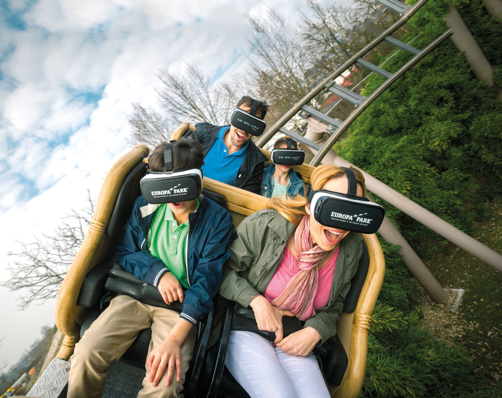Thrill-seekers get more than a virtual experience on a Europa-Park rollercoaster - Photo: Courtesy of Europa Park