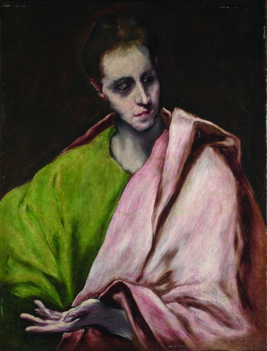 St John the Evangelist by El Greco (Copyright The Schorr Collection 2020)
