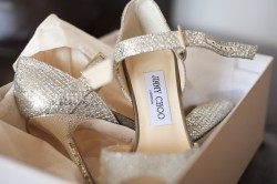 Jimmy Choo shoes.