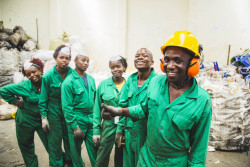 Family office DOB Equity and Global Innovation Fund have co-invested in a Kenyan recycling business that integrates marginalised waste collectors into a fair-trade system
