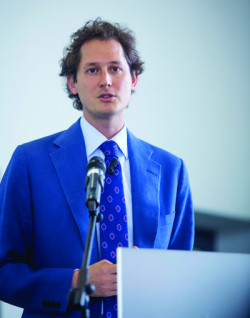 John Elkann, chairman and chief executive of the Agnelli family-controlled holding company Exor