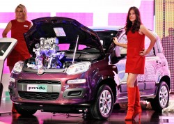 """""""Day of joy"""" for Agnelli family as new Fiat Panda is unveiled"""