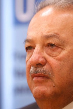 Carlos Slim ranks first on the Bloomberg Billionaires Index ©PA