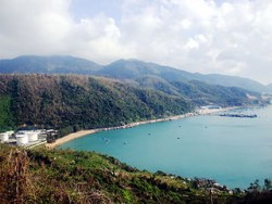Vung Ro Bay as it is now, before work on the development starts