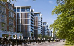 One Hyde Park, one of London's most prestigious addresses